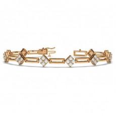 9K Rose Gold Bracelets