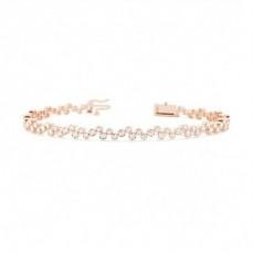18K Rose Gold Bracelets