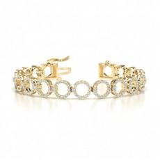 9K Yellow Gold Bracelets