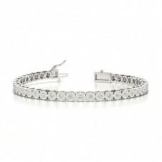 Round Tennis Bracelets