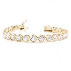 18K Yellow Gold Bracelets