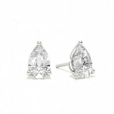 Pear Diamond Earrings