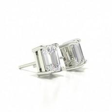 Emerald Diamond Earrings