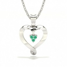 Round Heart Necklaces
