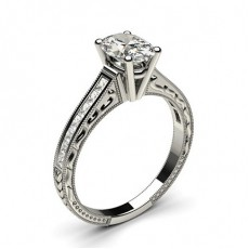 Platinum  Vintage Engagement Rings