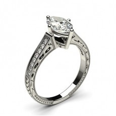 Marquise Engagement Rings