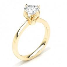 9K Yellow Gold Diamond Rings