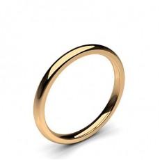 18K Rose Gold Wedding Bands