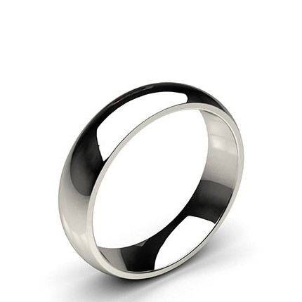 Low Dome Comfort Fit Wedding Band