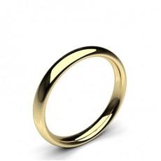 9K Yellow Gold Wedding Bands