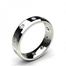 Men's Round Diamond Wedding Bands