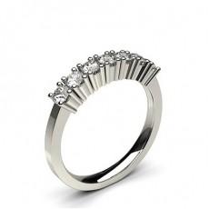 Round 7 Stone Diamond Rings