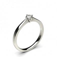 Platinum Promise Diamond Rings