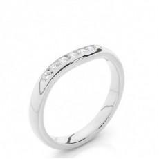 Platinum Women Diamond Wedding rings