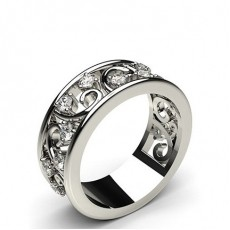 Round Diamond Eternity Rings