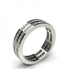 Baguette Anniversary Diamond Rings