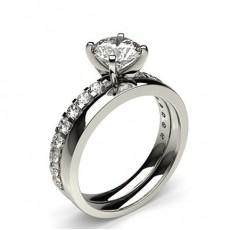 Platinum Bridal Set Engagement Rings
