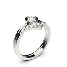 Round Bridal Set Engagement Rings