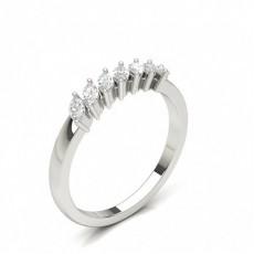 Marquise 7 Stone Diamond Rings