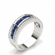 Princess Gemstone Rings