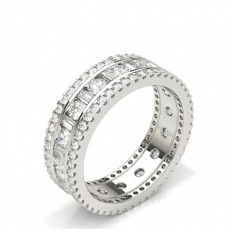 Baguette Cut Diamond Rings