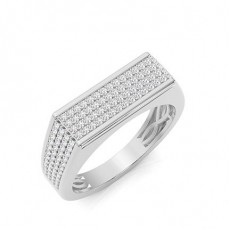 Platinum Men's Diamond Rings